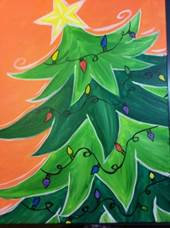 Paint 'n Party @ Coby's - Trim the Tree (12/3)