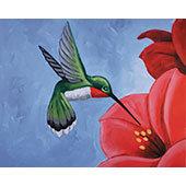 Paint 'n Party @ Bull's Head: Hummingbird (4/12)