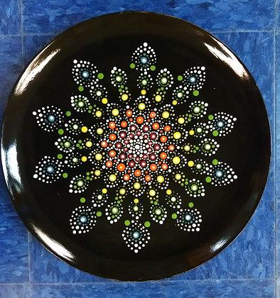 Mandala Plate at Apple Barrel (7/18)