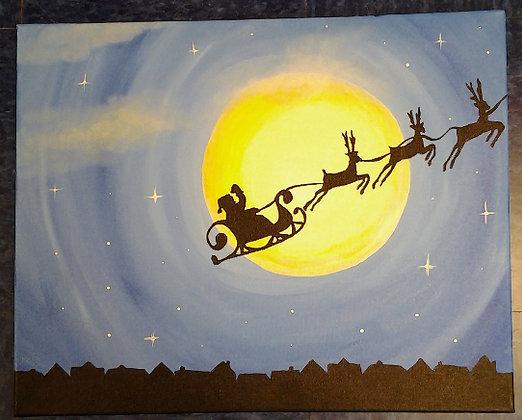 Paint 'n Party @ Apple Barrel - Santa's Nigh(12/9)