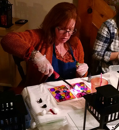 Flame Art Lanterns at Helderberg Meadworks (8/15)