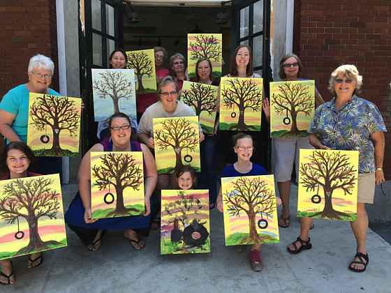 Paint 'n Party FUNdraiser in Middleburgh (6/30)