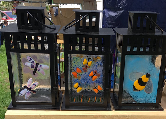 Fused Glass Lanterns at M'burgh Winery (6/20)