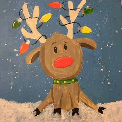 Kids' Canvas Painting (12/16)