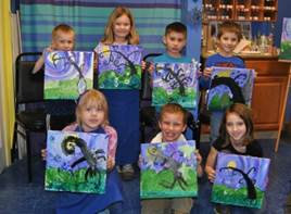 Kids' Drawing and Painting - 6 week class