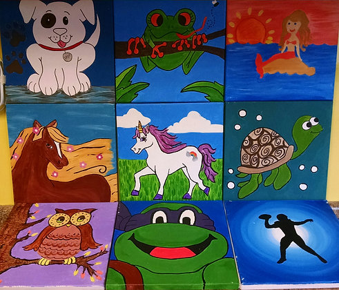 Kids' Paint in the Park (6/30)
