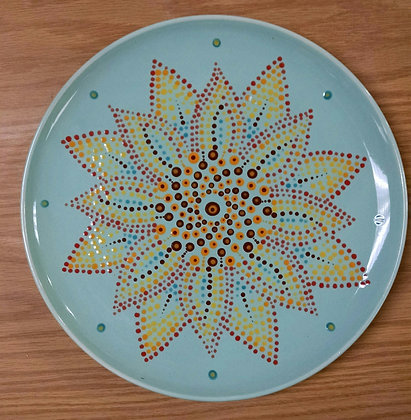 Sunflower Mandala at Tagua Nut Cafe (8/16)