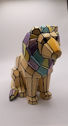Faceted Lion (MB1476)