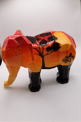 Faceted Elephant (MB1459)