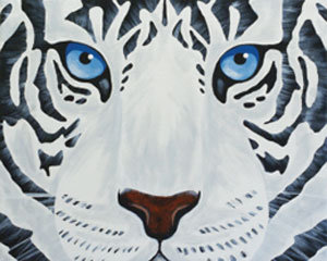 Paint 'n Party @ The Studio: White Tiger (7/14)