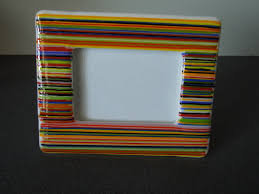Fused Glass Frame or Dish (1/29)