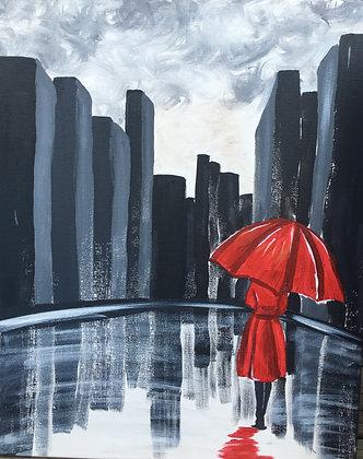 Paint 'n Party @ Apple Barrel: Red Umbrella (8/16)