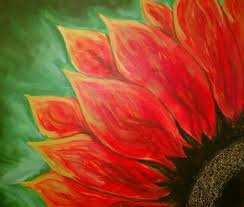 Paint 'n Party at DACC - Red Sunflower (5/10)