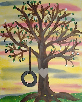 Paint 'n Party @ The Studio: Tire Swing (9/20)