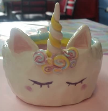 Kids Night Out: Unicorn Clay Bowl (9/7)