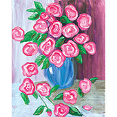 Paint 'n Party @ Coby's - Antique Roses (3/4)
