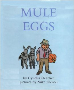 Parent Tot Story Art: Mule Eggs (10/10)