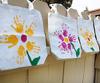 Mother's Day Gift - Hand Print Flower Bag (5/7)