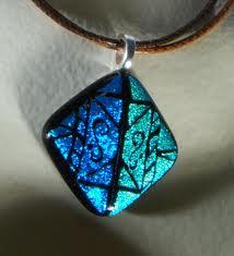 Dichroic Glass Jewelry (6/5)