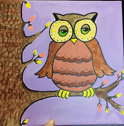 Paint 'n Party @ The Studio: Adorable Owl (9/25)