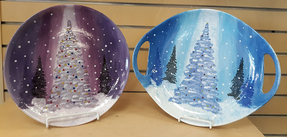 Christmas Under the Stars Plate or Platter at The Studio (12/4)