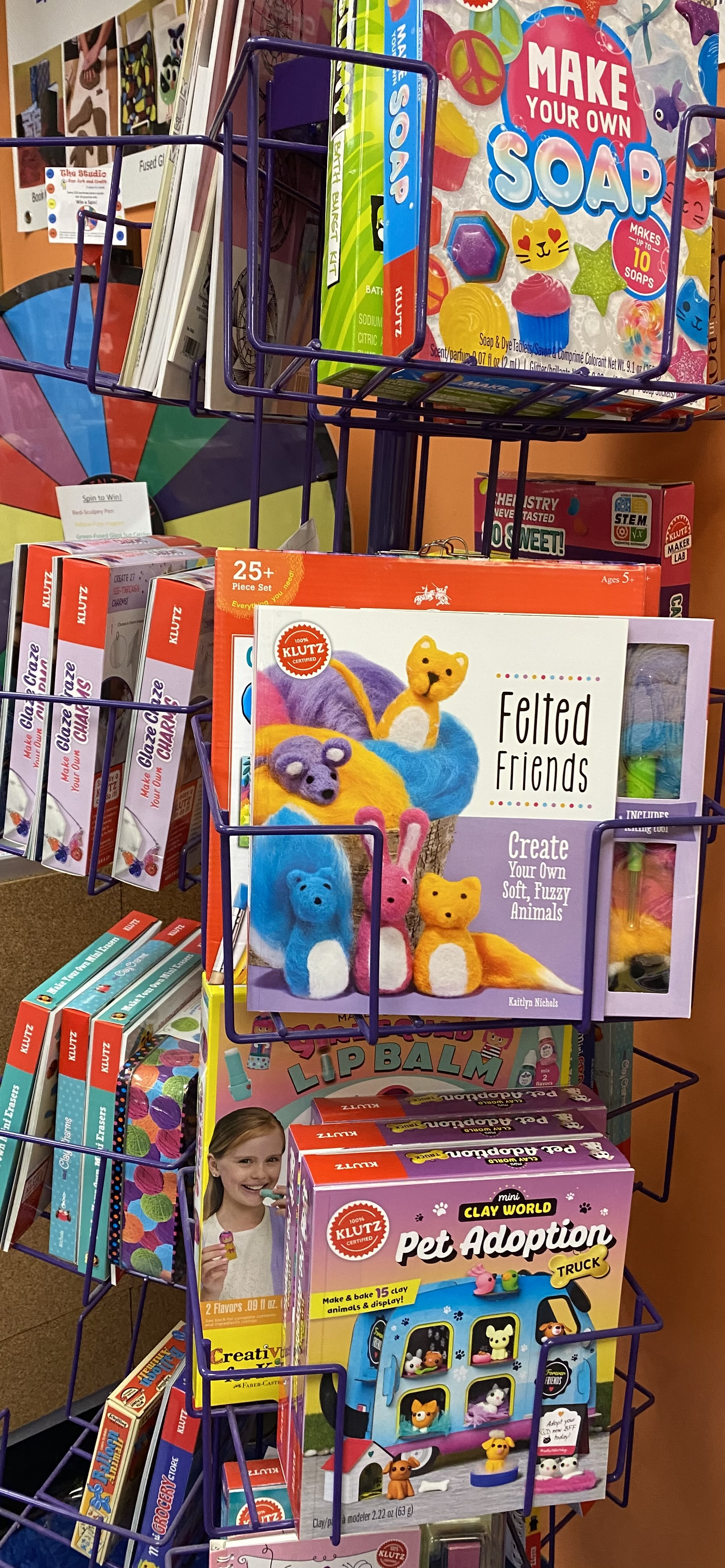 Klutz and other craft kits