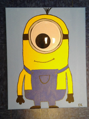 Family Paint'n Party @ The Studio - Minions (7/15)