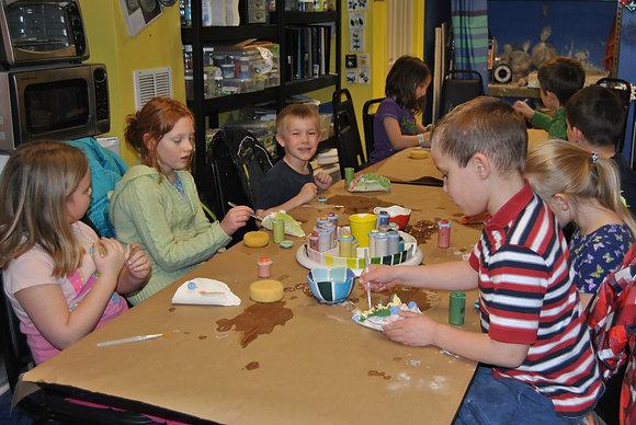 Afterschool Art Club (January/February 2016)