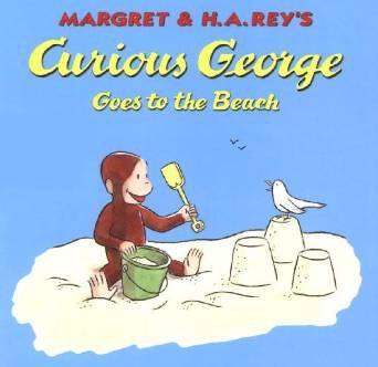 Parent Tot Story Art - Curious George Beach (7/11)
