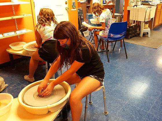 Pottery Wheel and Clay (starts 10/16)