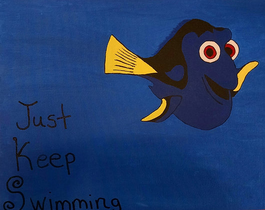 Kids Night Out: Finding Dory Canvas (6/17)