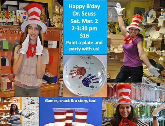 Happy Birthday Dr. Seuss Party (3/2)