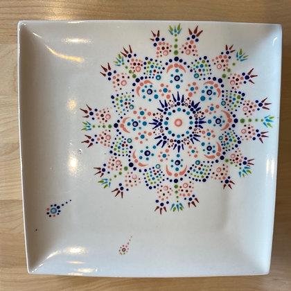 Fly Away Dot Mandala Plate at M'burgh Winery (7/19)
