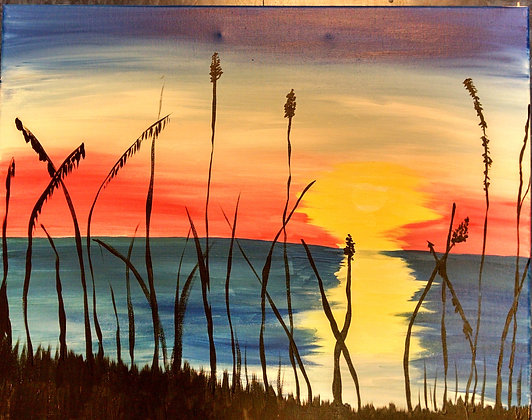 Paint 'n Party @ The Studio: Sunset (8/11)