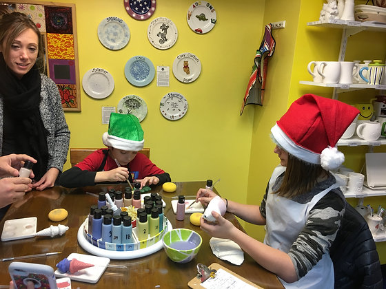 Family Paint 'n Sip at Tagua Nut Cafe (11/17)