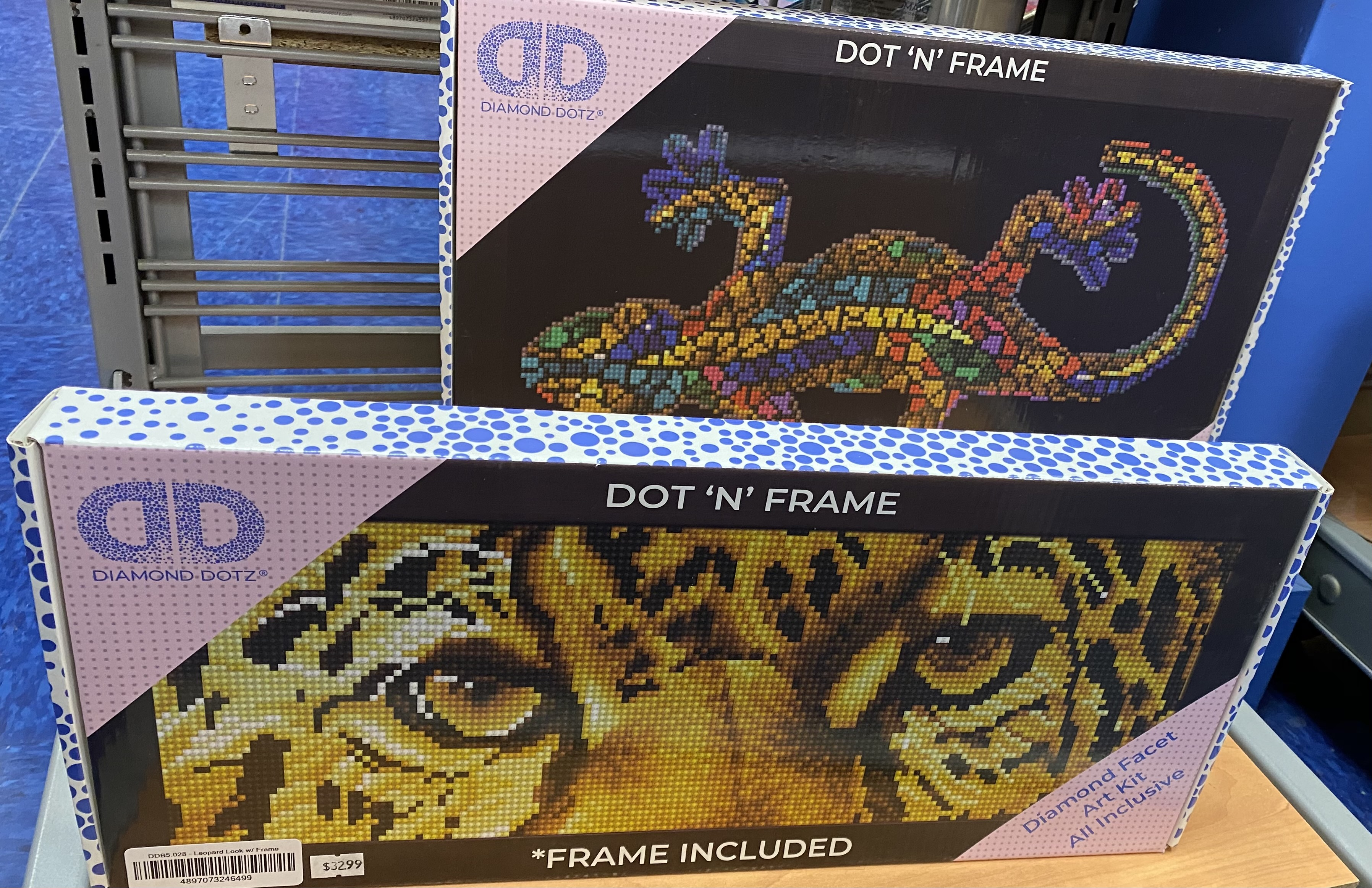 Boxed framed DD kits