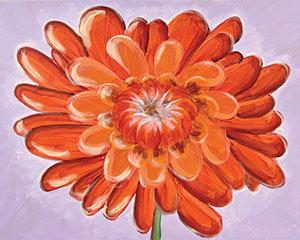 Paint 'n Party @ The Studio - Orange Mum (5/19)