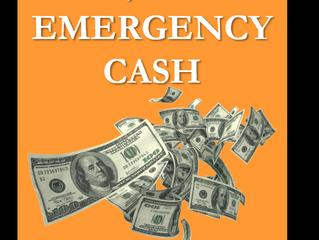 101 WAYS TO RAISE EMMERGENCY CASH