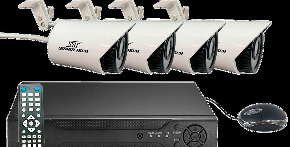 Kit  CCTV Smart Tech 4 cámaras SX-7004-4