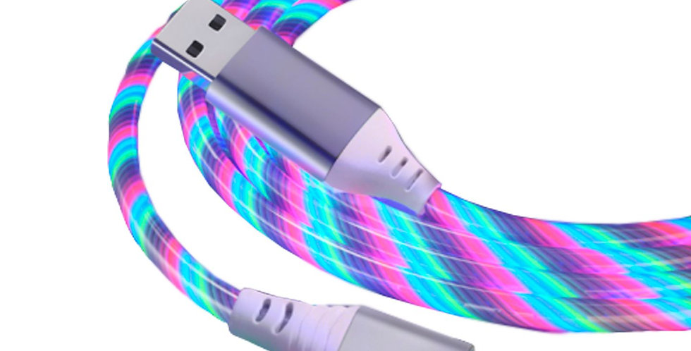 Cable Lightning Smart Tech con luces