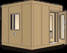 120a Çift Duvarlı Sessiz Kabin