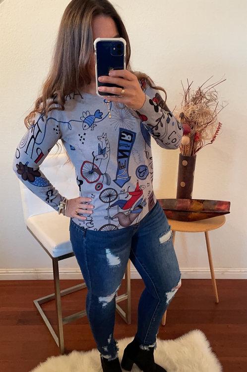 Ada Grey Sweater