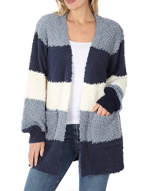 ABY CARDIGAN BLUE