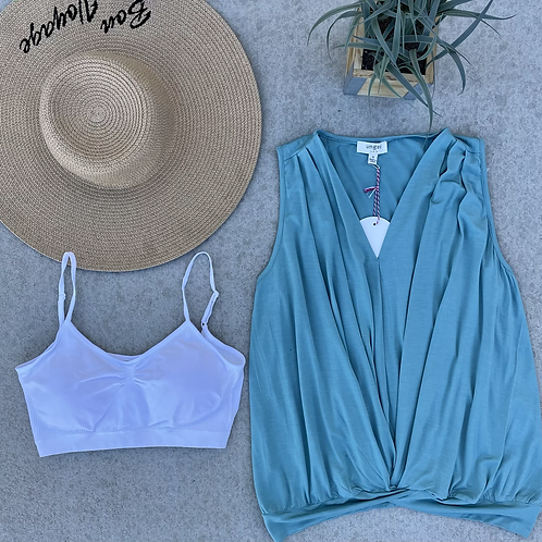 LUCIA BLOUSE TEAL