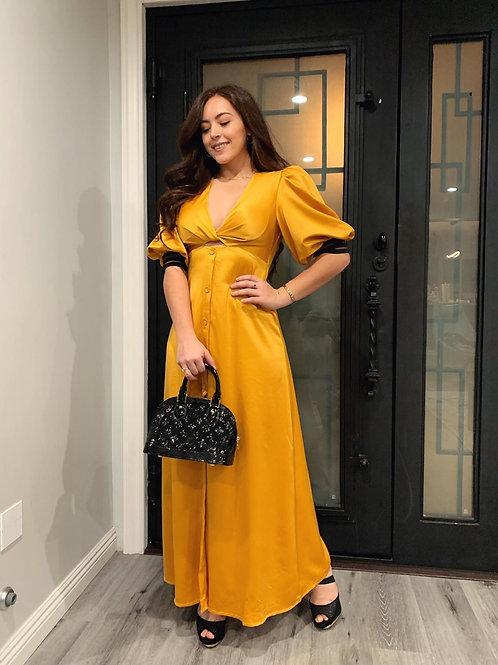 NYE DRESS GOLD