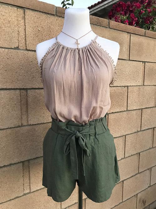 Kari Paper Bag shorts