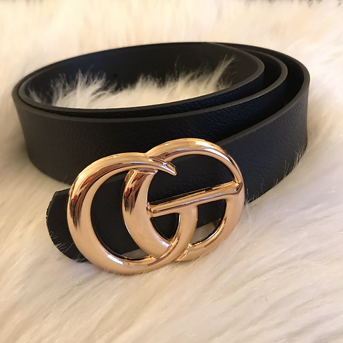 Belt Inspired  by Gucci Gold