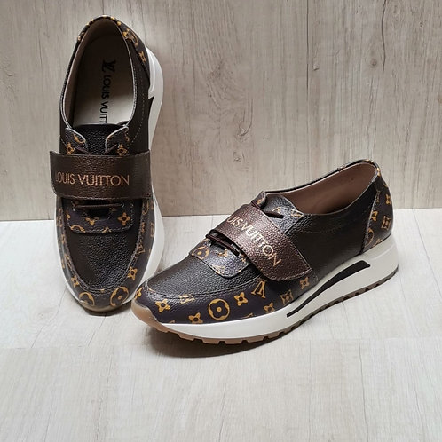 INSPIRED BY LV BROWN TENNIS