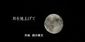 酒井康充演奏動画、月を見上げて