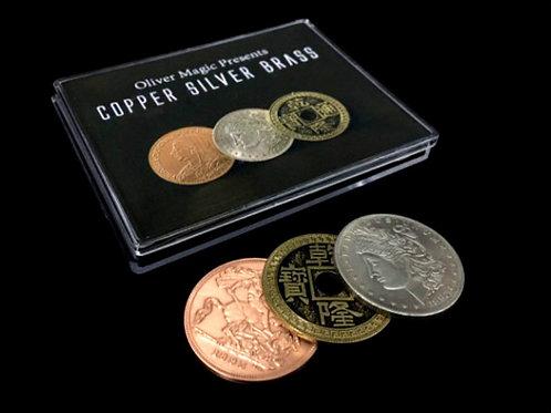 Cobre, plata y china
